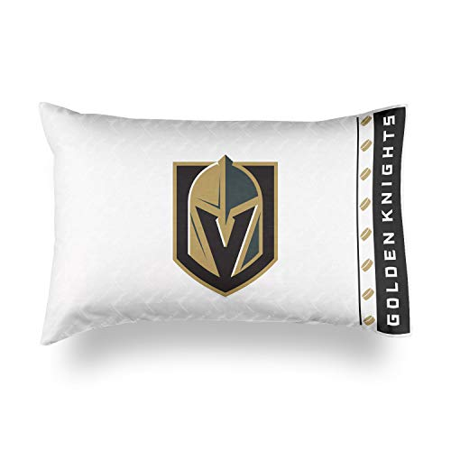 Sports Coverage Vegas Golden Knights NHL Micro Fiber Pillow Case Logo