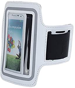 Sports Armband for Samsung Galaxy S3/S4 - White