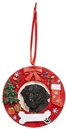 E&S Pets Black Labrador Personalized Christmas Ornament by E&S Pets
