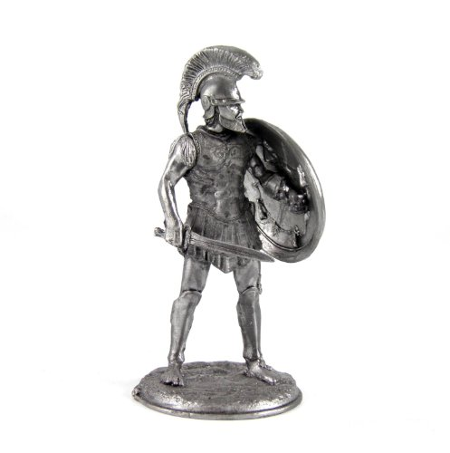 Tin toy soldiers. Greek Hoplite