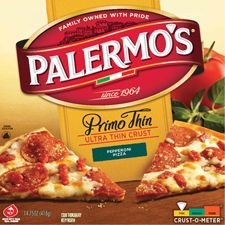 PALERMO'S PIZZA PRIMO THIN PEPPPERONI 14 OZ PACK OF 2