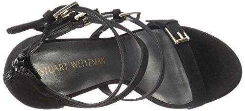 Weitzman Delle Stuart Donne Nero Fourbucks Sandalo Vestito wRRqn7dE