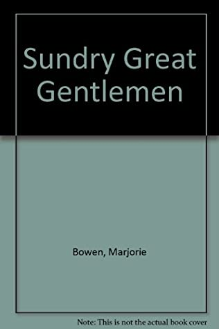 book cover of Sundry Great Gentlemen