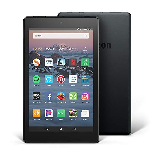 All-New Fire HD 8 Tablet | Hands-Free with Alexa | 8'' HD Display, 16 GB, Black - with Special Offers by Amazon