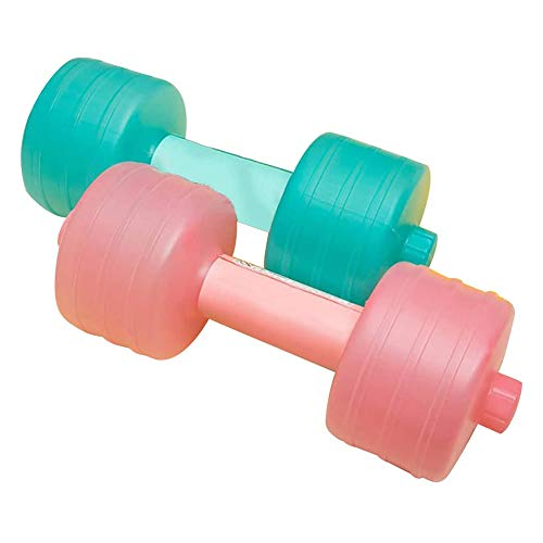 Vulbare halters, met water gevulde verstelbare dumbbells, draagbare reishalters voor sportoefeningen, gewichtheffen…