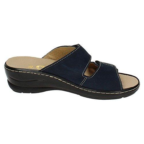 Sandales Femme Horas Marine 48 Bleu wqn5CEnYp