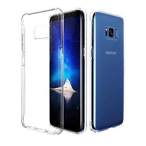 Galaxy S8 Plus Casec Otium Crystal Clear Shock Absorption Bumper Soft TPU Cover Case for Samsung Galaxy S8 Plus 2017 (Clear)