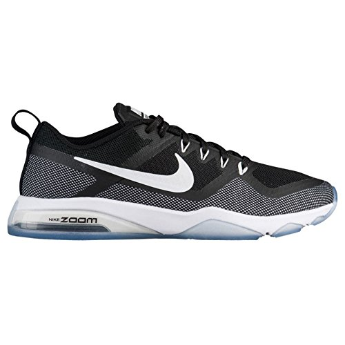 Nike white black 5 Air Scarpe Wmns 001 Eu 44 Donna Fitness Zoom Nero ZUZqrw8Ax