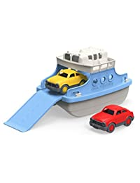Green Toys Ferry Boat with Mini Cars Bathtub Toy, Blue/White BOBEBE Online Baby Store From New York to Miami and Los Angeles