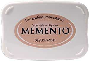 Tsukineko Full-Size Memento Fade Resistant Inkpad, Desert Sand