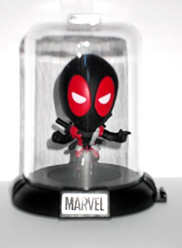 Marvel Deadpool Collectible Original Mini's Domez ~ Weapon X Pose 1 Domed Collectible Mini Character (Opened to Identify) (Dead Waiter Costume)