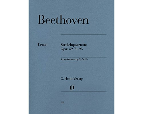String Quartets Opus 59 74 95 ()