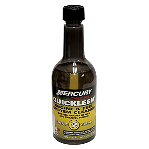 Mercury Marine Quickleen Engine and Fuel System Cleaner, 12 Ounces 92-8M0047931