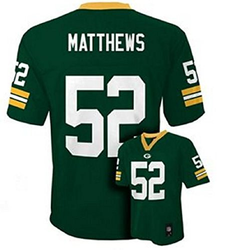 Clay Matthews Green Bay Packers Green NFL Infants 2013-14 Season Mid-tier Jersey (Infants 24 Months) ()
