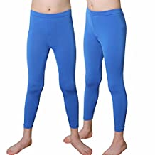 Kids Compression Long Pants Leggings Tights Underwear Base Layer Basketball PK
