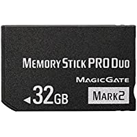 Top-BR High Speed fsrdGT Memory Stick Pro-HG Duo 32GB(Mark 2) PSP Accessories