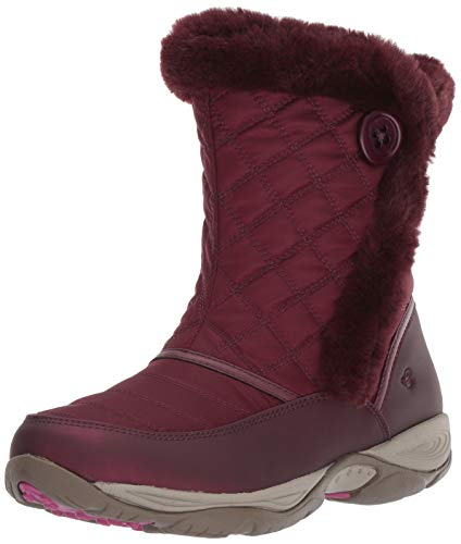 - Easy Spirit Women's EXPOSURE2 Ankle Boot, red, 9 M US
