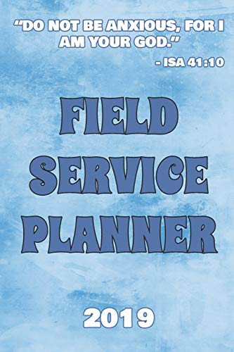 Pdf Christian Books Field Service Planner 2019: Ministry Planner | Jehovah's Witnesses accessories for Pioneers and Publishers