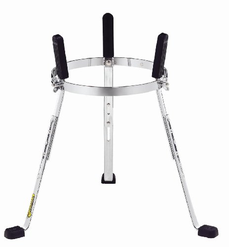 Meinl Percussion ST-WC1134CH Steely II Height Adjustable Stand for 11 3/4-Inch MEINL Woodcraft Congas, Chrome by Meinl Percussion