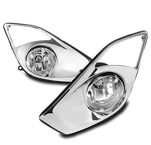ZMAUTOPARTS Toyota Avalon Bumper Driving Fog Lights Lamps Chrome