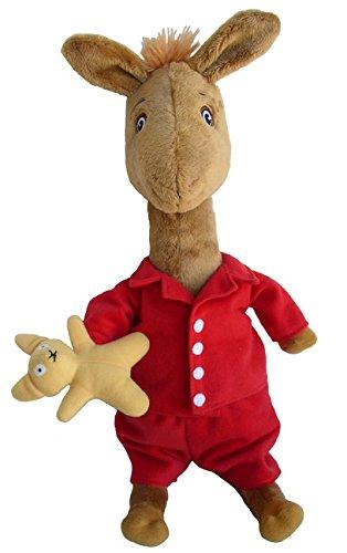 MerryMakers Llama Llama Plush Doll, 13 5-Inch