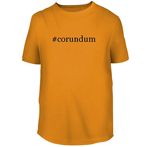 BH Cool Designs #Corundum - Men's Graphic Tee, Gold, Small