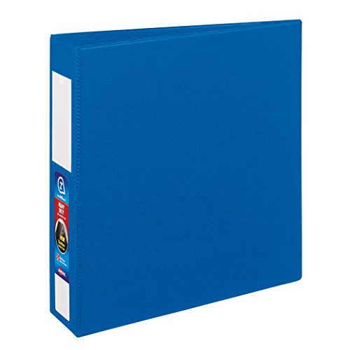 Avery Heavy-Duty Binder with 2-Inch One Touch EZD Ring, Blue, 1 Binder (21015)
