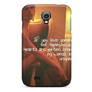 Fashion Protective Sad Love Case Cover For Galaxy S4 by icecream design