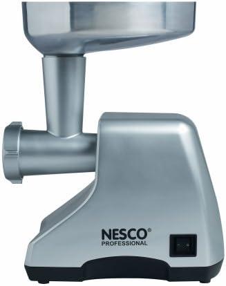 Nesco Professional Cast-Aluminum Food Grinder, 380-watt