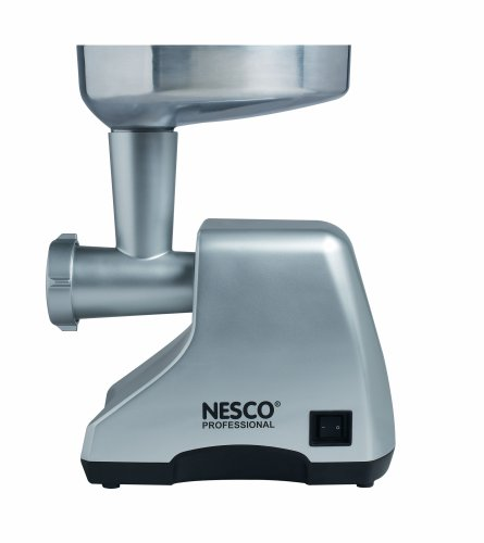 Nesco FG-400PR Professional Cast-Aluminum Food Grinder, 380-watt