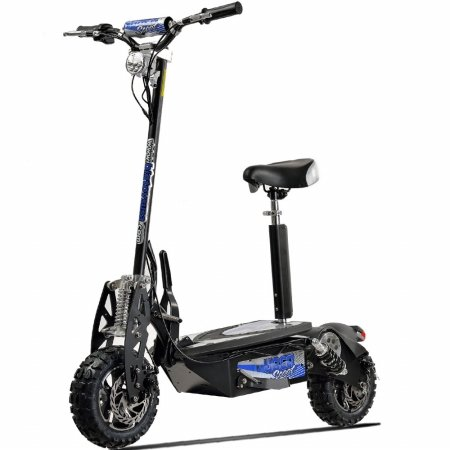 UberScoot 1600w 48v Electric Scooter with seat