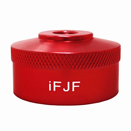 iFJF Aluminum Red Extended Run Gas Cap Adapter For Honda Generator EU2000i EU1000i