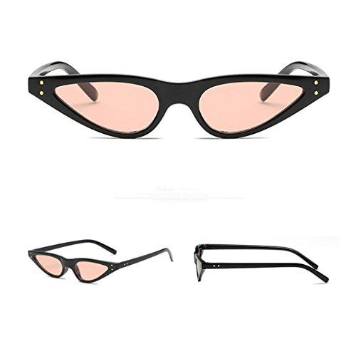 Hombre Mujer Gafas Sol Gafas Pequeño Retro Gafas Unisexo Para Ojos Gato Moda C Fossen De Vintage P6FxqO