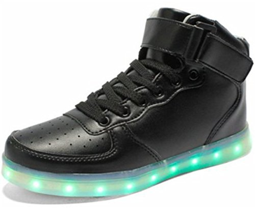 LED Colore USB Piccolo Nero Carica 7 Unisex Adulto Asciugamano Presente Scarpe junglest S4n6zfx