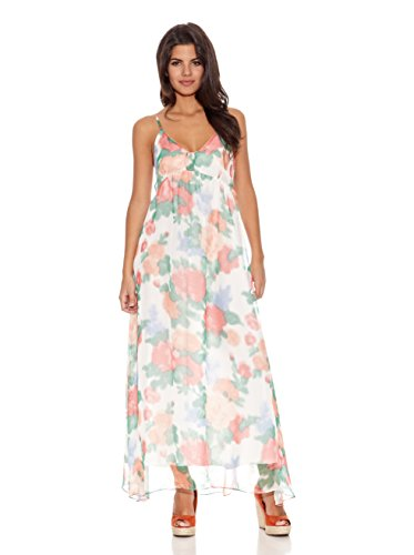 Rare London Vestido Floral Maxi Dres Multicolor
