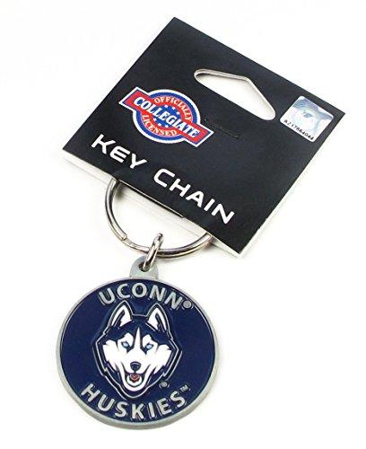 Connecticut Huskies - UConn Key Ring - NCAA College Athletics Fan Shop Sports Team Merchandise