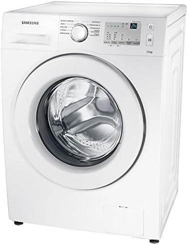 Samsung WW70J3473KW1EG Waschmaschine / UpM 7 kg / Frontlader / A 1400 / Pflegetrommel / Vollwasserschutz