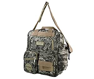 "Lillian Rose Diaper Bag, Daddy Military, 12.5"" x 16"""