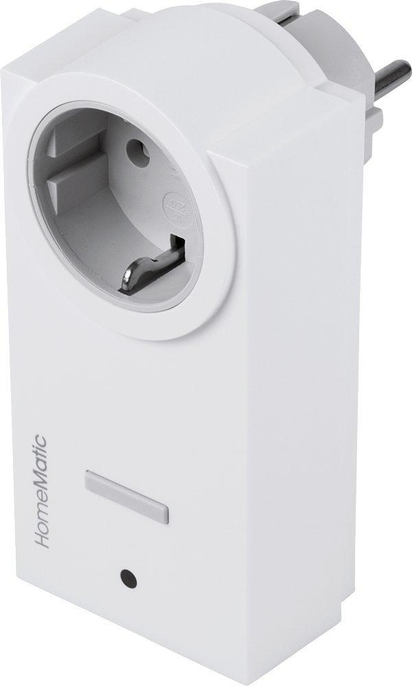 HomeMatic –  Actuador de 1 Compartimento, Entre Conector, Tipo F Schuko Alemania, 132989 A0 132989A0 eQ-3 AG 132989A0