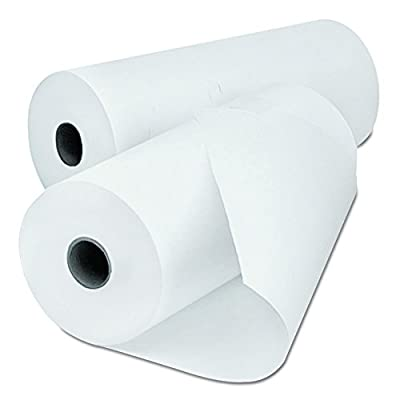 "Universal 35751 Economical Thermal Facsimile Paper, 1"" Core, 8-1/2"" x 164 ft (Case of 6)"