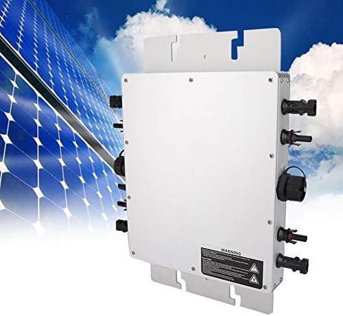 Solar Grid Tie Wechselrichter, wasserdichter Photovoltaik-Mikro-Wechselrichter WVC-1200W Micro Inverter Power Reine Sinuswelle Photovoltaik-Wechselrichter Power