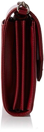 Sansibar Damen Clutches, 18x14x5 cm Rot (Merlot)
