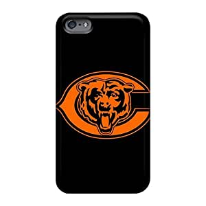 Great Hard Phone Covers For Apple Iphone 6 Plus With Customized Vivid Chicago Bears Series Aimeilimobile99
