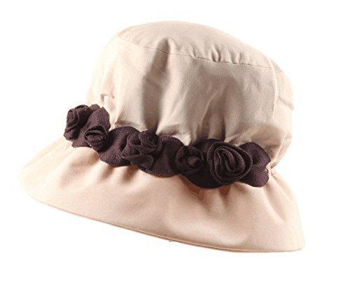 DIDIDD Hat-Women's Winter and Autumn Hats Fashion Warm Knit Cap Children Cashmere Hat,Camellia japonica
