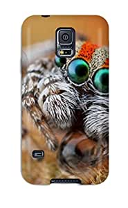 Hard Plastic Galaxy S5 Case Back Cover,hot Macro Spider Case At Perfect Diy