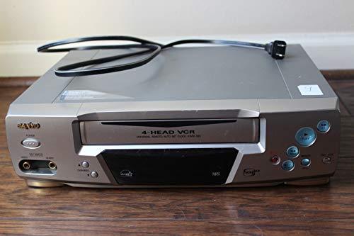 Sanyo 4-Head Video Cassette Recorder #VWM-390