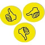 """FRANKEN symboles d'appréciation pour présentation """"Pouces"""","""