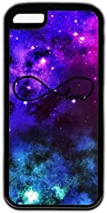 LJF phone case Galaxy Space Infinity Love Theme Iphone 5C Case