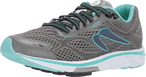 Newton Running Women's Motion 8 Stone/Aqua 10.5 B US (Best Running Shoes For Overpronation 2019)