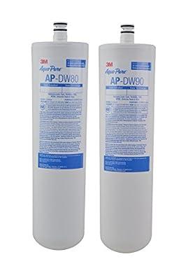 3M Aqua-Pure Under Sink Replacement Water Filter – Model AP-DW80/90